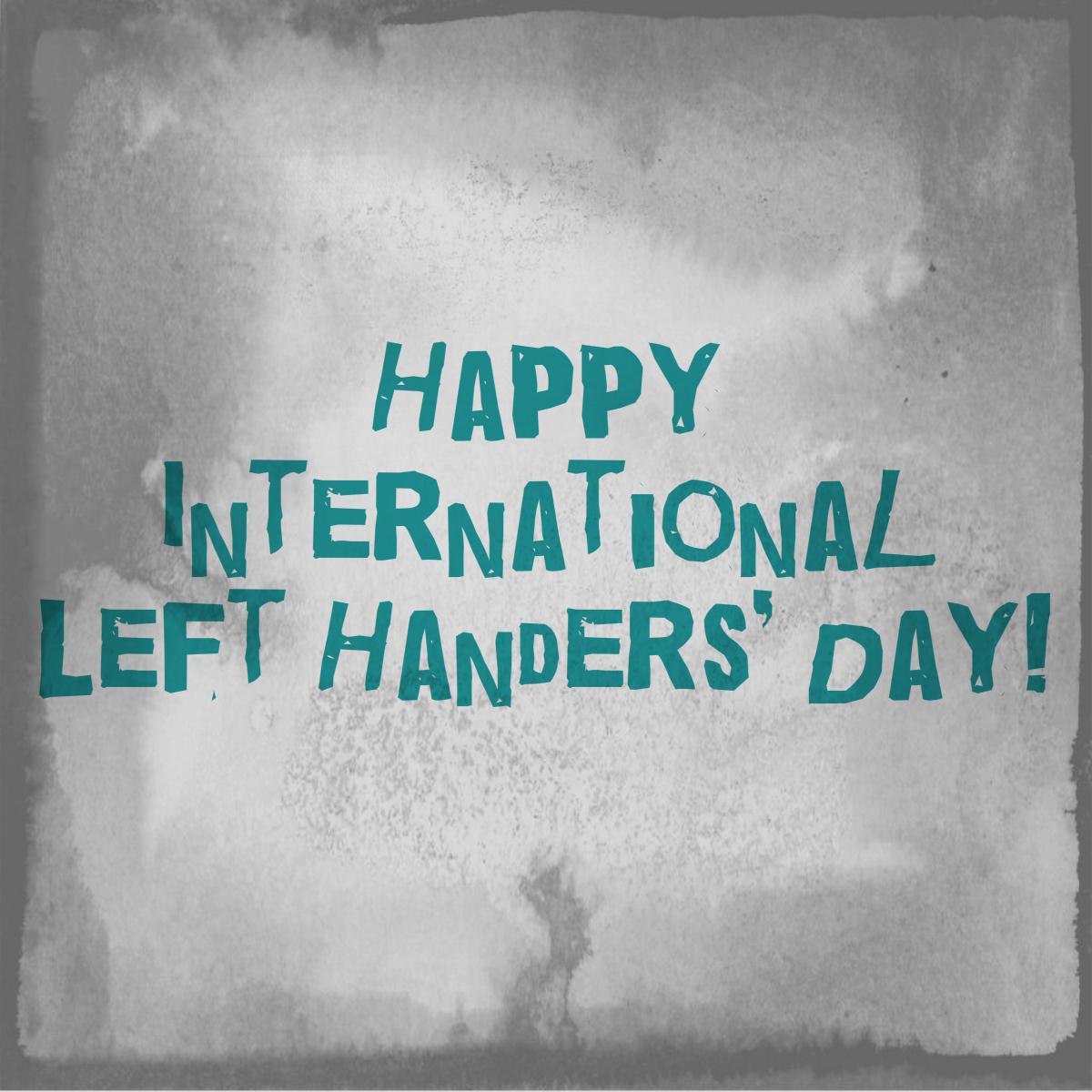 left handers day - photo #23