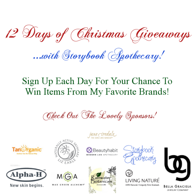 12 Days of Christmas Giveaways 2012 - StorybookApothecary.com