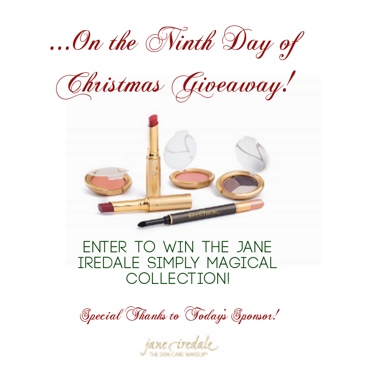 12DaysofChristmasGiveaways-JaneIredale-StorybookApothecary.Com
