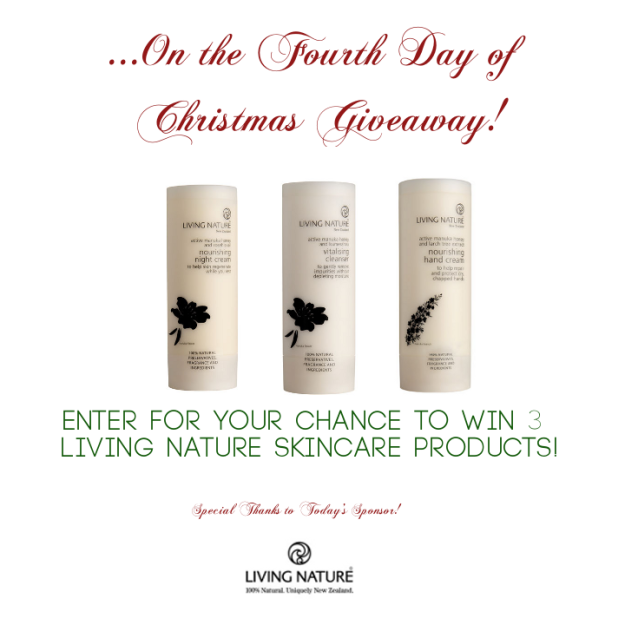 12 Days of Christmas Giveaways - Living Nature - StorybookApothecary.com