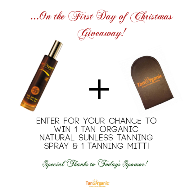 Tan Organic - 1st Day of Christmas Giveaways - StorybookApothecary.com
