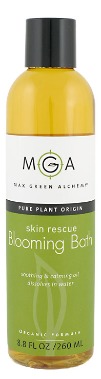 Max Green Alchemy Skin Rescue Blooming Bath Oil