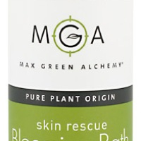 Soothe Dry, Irritated Winter Skin with Max Green Alchemy's Skin Rescue Blooming Bath Oil