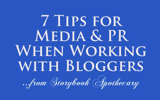 TipsforMediaPRWorkingwithBloggers