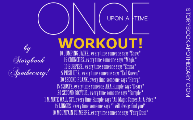 OUATWorkout_StorybookApothecary.com